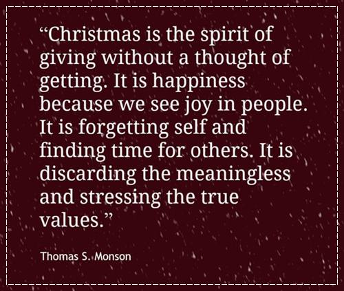 Inspirational Christmas Quotes Sayings