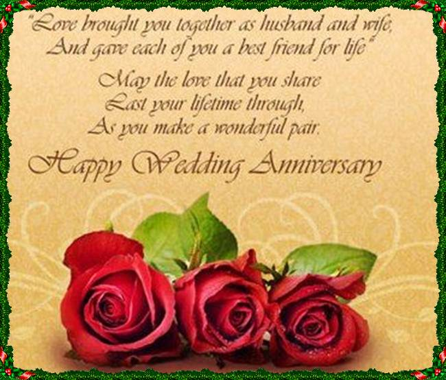 Happy Wedding Anniversary Wishes Greetings Images Quotes