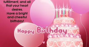 Happy Birthday Wishes – Greetings – Images | Quotes & Messages