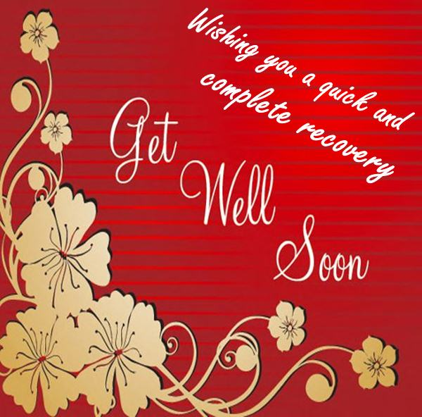 Get Well Soon 2018 Wishes