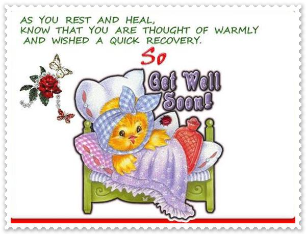 Get Well Soon Cards For Friends
