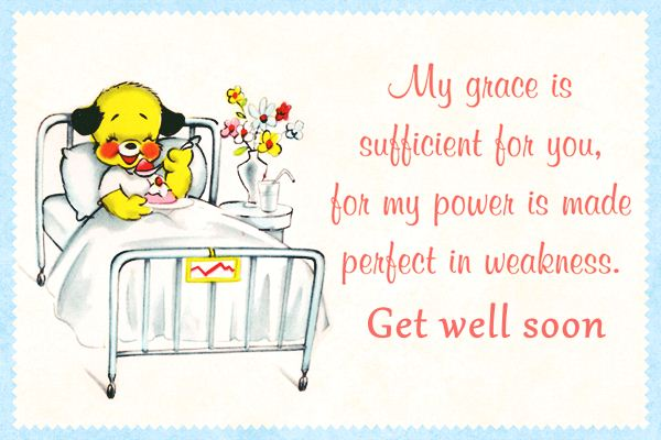 Get Well Soon Cards With Messages
