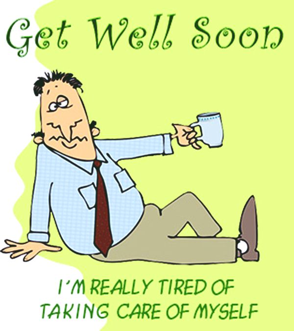 Get Well Soon Funny Wishes