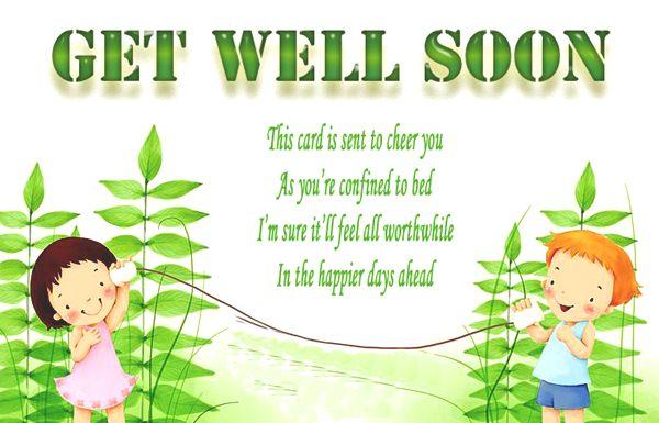 Get Well Soon Wishes, Get Well Soon Wishes for all