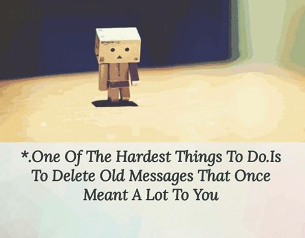 Love Failure Messages